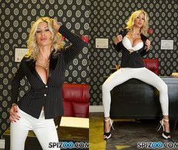 Puma Hot Secretary - Puma Swede as a hot secretary - Spizoo