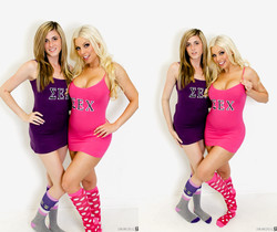 Britney Amber & Mia Mae - Immoral Live