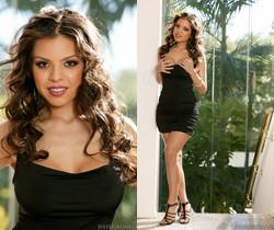 Yurizan Beltran Naughty Slut Shows Off Her Big Tits