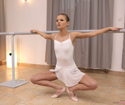 Sarah Kay - Little Dancer - Petite Ballerinas Fucked