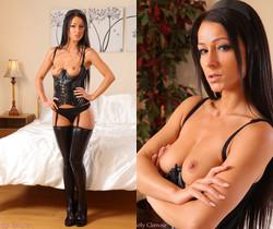 Kristina - K Pvc Stockings - Strictly Glamour