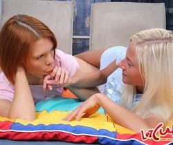 Horny Lesbians Hazel, Alexa & Lilly - Lez Cuties