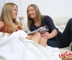 Horny Lesbians Charlene & Linda D. - Lez Cuties