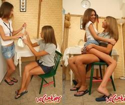 Natalia & Ally N. Eating Pussy - Lez Cuties