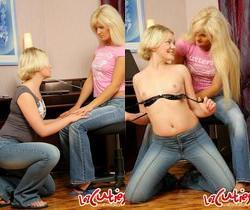 Krystal & Ulla Licking Pussy - Lez Cuties
