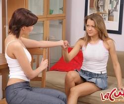 Lesbian Sex with Priscilla, Ida & Abigail - Lez Cuties