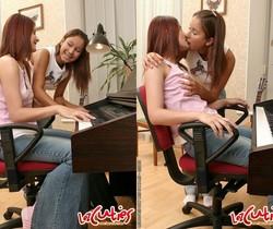 Dirty Lesbians Foxy & Andy - Lez Cuties