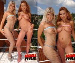 Niki Montana & Trisha FFM Anal Threesome