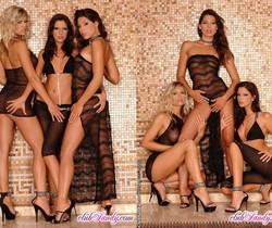 Lesbian Threesome with Bambi, Zafira & Gigi