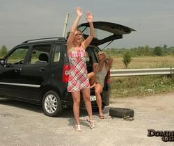 Dara & Syndy Love Slave Girls