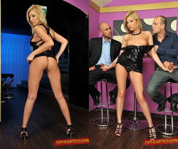 Donna Bell Double Fucked