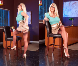 Charlee Chase - Red Party Line - Leg Sex