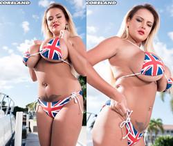 Katie Thornton - Rule, Britannia Bikini! - ScoreLand