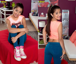 Megan Salinas - Busty Babe - 18eighteen