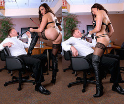 Raven LeChance - Obey The Mistress - Leg Sex
