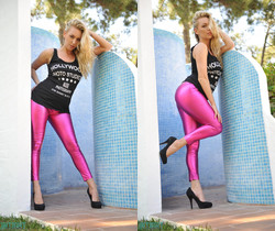 Hayley-Marie Coppin - Hayley Pink - Skin Tight Glamour
