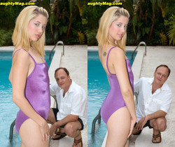 Chrissie Summers - On Your Back Stroke - Naughty Mag
