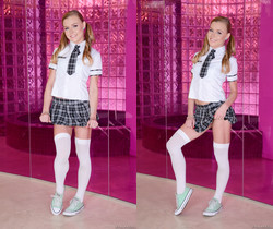 Nicole Clitman - Pigtailed Teen Nicole Anally Corrupted
