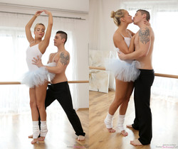 Victoria Pure - Dance Lovers - Petite Ballerinas Fucked