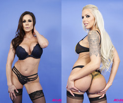 Kendra Lust & Nina Elle In Hard Threeway - Arch Angel