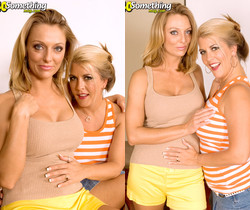 Joclyn Stone, Brenda James - Two Cougars, One Young Cock