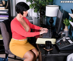 Shay Fox - Hot Cream Injection For A Busty Milf - ScoreLand
