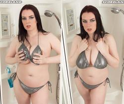 Emily Cartwright - Showering Bra-buster - ScoreLand
