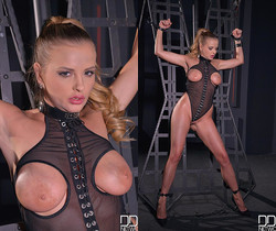 Unchained Lust: Submissive Babe Crams Asshole