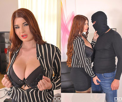 Horny Self-Defense - Hardcore Office Fuck And Cum On Tits