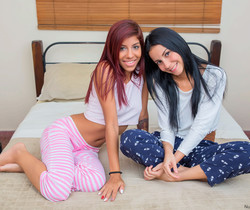 Young Girlfriends Experiment Together - Nubiles Porn