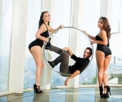 Adriana Chechik, Logan Pierce & Aidra Fox - Erotica X