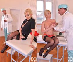 Unforeseen Examination - Horny Doc Penetrates Blonde