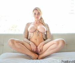Skyla Novea - Busty Blonde Masseuse - Passion HD