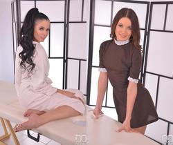 A Proper Probing - Lesbians Electric Massage
