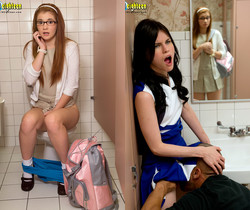Heather Night, Ava Sparxxx - Corrupting The Nerd