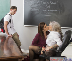 Alyssa Lynn & Sara Jay - My First Sex Teacher