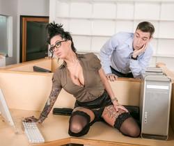 Lily Lane, Patrick Delphia - Big Tit Office Chicks #02