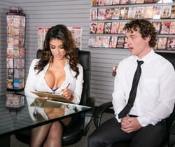 Raven Hart - Big Tit Office Chicks #02