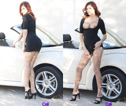 Redhead and fast car - Cali Teens