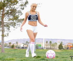 Cleo Vixen - Blonde Soccer Teen - Tiny 4K