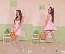 Sexy Tasty Easter Bunny: A Horny Milf's Cosplay Adventure