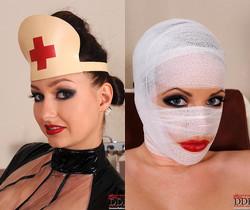 Sandy K., Janette - Latex love and Nurses [Part 1]