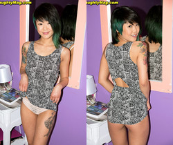 Saya Song - Amateur Asian Punk - Naughty Mag