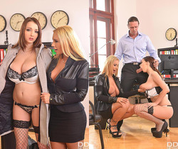 Kyra Hot, Lucie Wilde - Stacked Stress Busters!