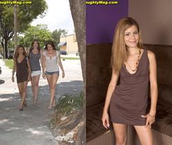 Victoria, Vianey Cruz, Tori Black - Pickin' Up Pussy