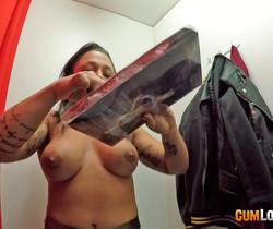 Deborah Wild - Surprise in the changing room