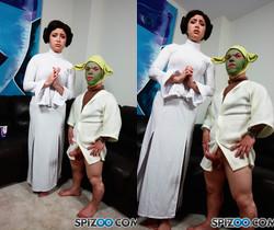 Yoda Footjob - Daisy Haze - Spizoo