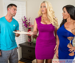 Alura Jenson & Jewels Jade - Seduced By A Cougar