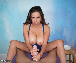 Sienna Lopez - Ejaculate All Over Yourself - Cum Blast City