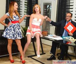 Alex Tanner & Dani Jensen - Naughty Rich Girls